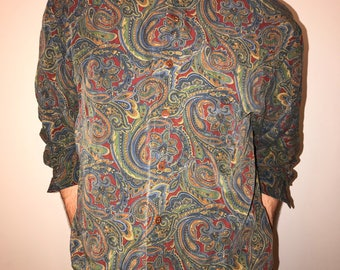 Paisley Button Up