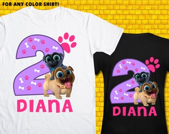 Puppy Dog Pals / Iron On Transfer / Puppy Dog Pals Birthday Shirt Transfer DIY / Puppy Dog Pals High Resolution 300 DPI / Digital Files