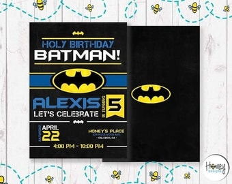 Holy Birthday Batman!