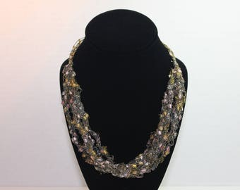 Tourmaline Lace Necklace