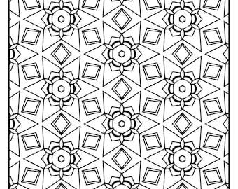 Wackadoodle Coloring Rectangle #112