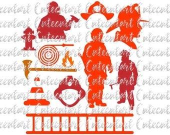 Firefighter Svg, Fireman , Badge Logo Emblem, Maltese Cross SVG, Fire Dept logo, Svg, Png, Eps, Dxf, Pdf