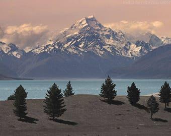 Art Print - Mount Cook Photography, New Zealand, Wall Decor