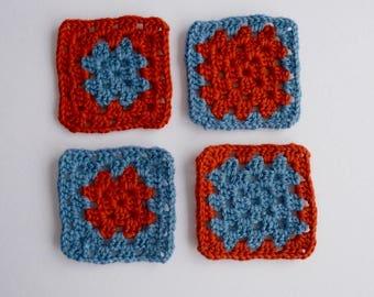 Crotchet Coasters
