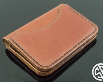Front Pocket Slim Design•Minimalist Credit Card Wallet•Mens Leather Wallets•Wallet•Leather Wallet•Personalized Leather Wallet•