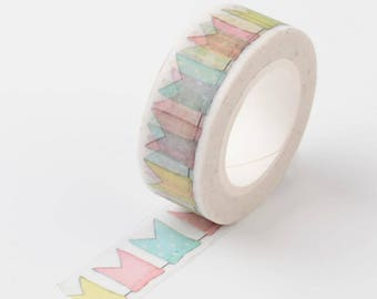 Flag Washi Tape - 15mm x 10 Meters - #SW124