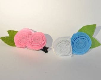 """Hairpin """"Rosebuds"""""""