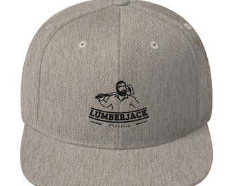 Lumberjack Pastor snapback hat
