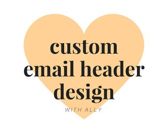 Custom Email Header Design