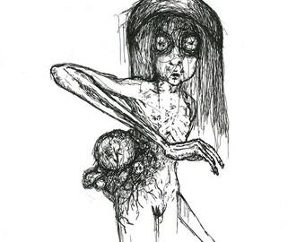 "Art print ""Cancer"""
