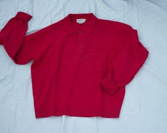 Vintage Abercrombie & Fitch Wool Pocket Sweater