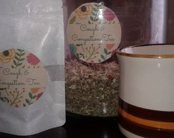 Cough & Congestion Tea