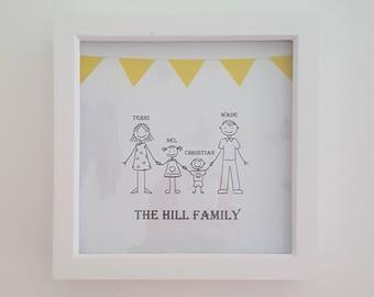 Family Box Frame