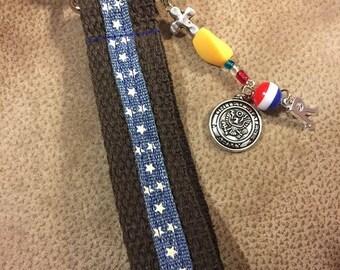 Stars & Stripes Key Ring