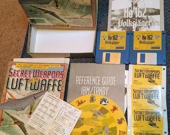 Secret Weapons of the Luftwaffe (4 Disc Set) + Bonus HE 162 Volksjager (4 Disc Set) Both Complete!