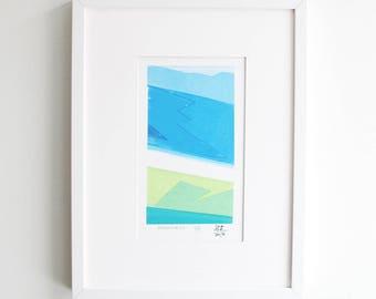 Mountain Silkscreen Print