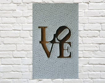 Gift for wife Gift for her String art Love gifts for husband I love you man I love you more Boyfriend funny gift Unique gift for wife