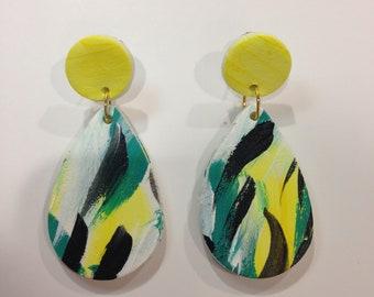 Tear drop earrings - 'Collingrove'