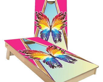 Butterfly Cornhole Boards