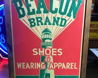 Framed Beacon Poster