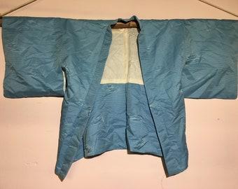 Short kimono - blue