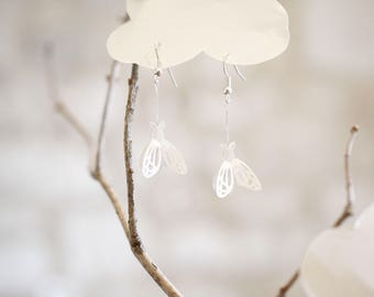 Lepidoptera earrings