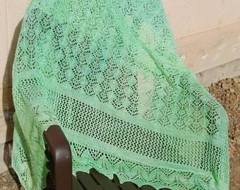 Lattice and Lace Knitting Pattern
