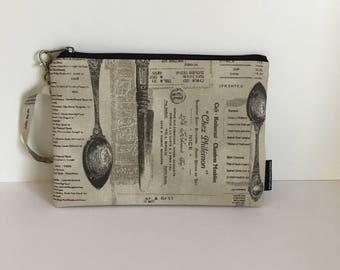 Clutch bag -menu