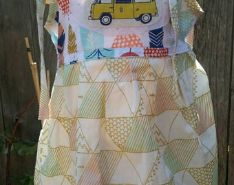 Dress VW bus 24mos-4T Baby Toddler Boutique