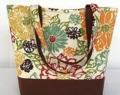 FINAL MARKDOWN Large handbag, Shoulder bag, Tote bag, Tote bag with pockets, womens handbag, handmade, purse