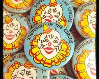 SALE 1pc VINTAGE CIRCUS Button Souvenir of The Circus