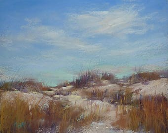 Landscape with Dunes, Beach,seashore, Coastal Art  8x10 Karen Margulis Florida Art