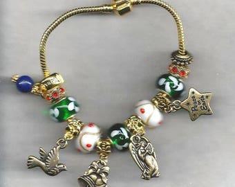 ON SALE Christmas European Bracelet