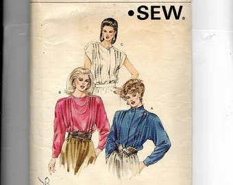 Kwik Sew Misses' Blouse Pattern 1444