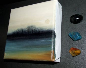 ORIGINAL oil painting by Tanya Bond abstract-scape landscape canvas