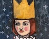 Oil painting portrait - Marceline - Original art