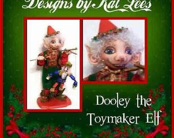 santas toymaker elf, chrisdtmas elves, seasonal dolls