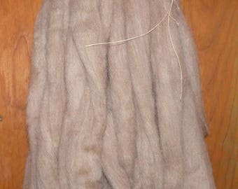 Tasmanian Comeback Wool Roving / 4.1 ozs. / Oatmeal
