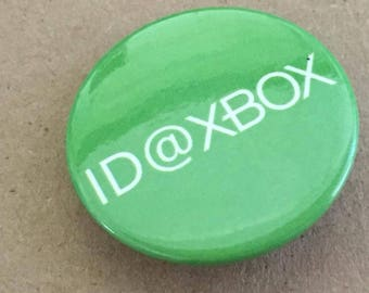 Vintage ID@XBOX Button ID Xbox Button Gaming
