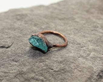 Chunky Apatite Ring