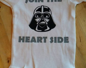 Join the HEART SIDE starwars