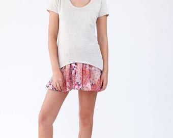 Megan Nielsen PATTERN - Briar Tee Shirt - Sizes XS to XL
