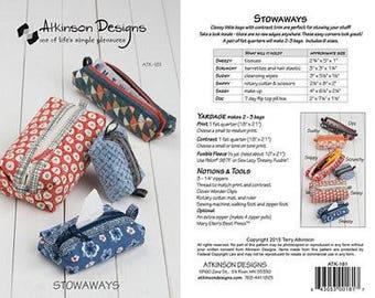 Atkinson Designs PATTERN - Stowaways
