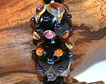Lampwork  Art Beads by Jeanniesbeads #3052