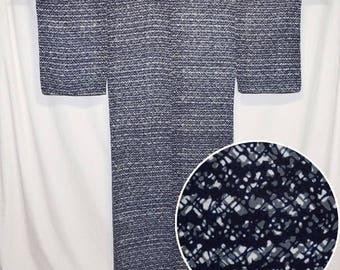 "Vintage Japanese Yukata Kimono Robe Man's Cotton Summer ""Jiro San"""