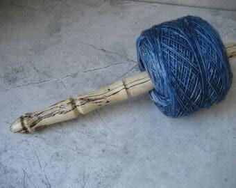 Nostepinne (Center Pull Yarn Winder)  Spalted Tamarind