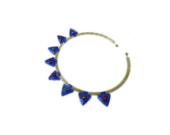 Beading pattern/ beading tutorial for beaded pendant and bracelent components- Beaded Arrow Heads