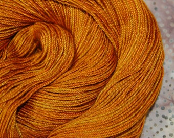 """MYS 622 """"COPPER """" -400 yards 100 grams- 60/20/20 Superwash Merino, Yak and silk"""