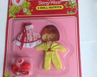 Vintage Strawberry Shortcake Berry Wear
