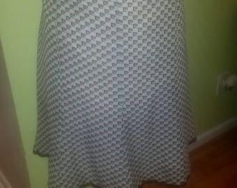 Flirty Plus Size Pierre Cardin Logo Skirt - Size 22
